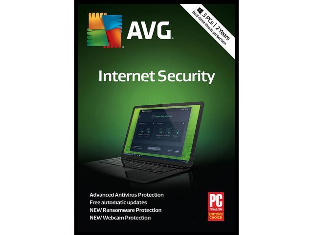 AVG Internet Security 2019, 3 PCs 2 Years (Download)