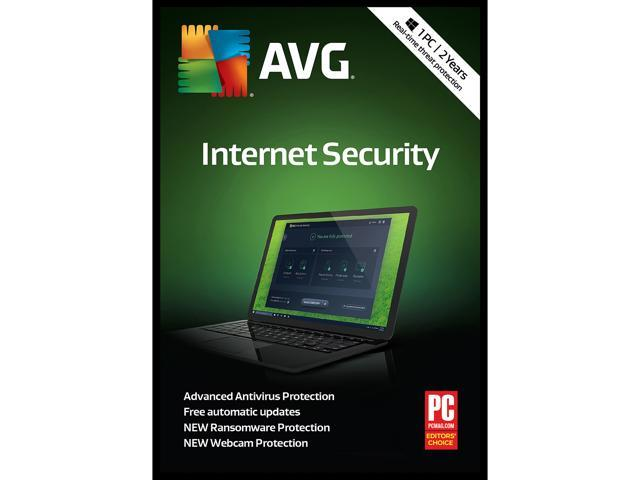 AVG Internet Security 2019, 1 PC 2 Years Download