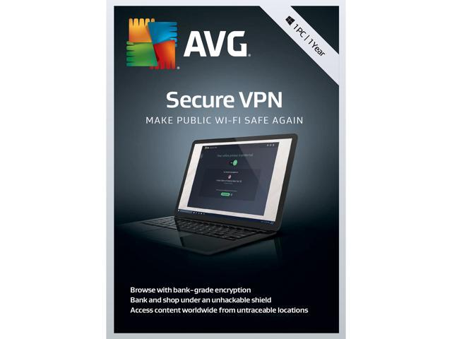 AVG Secure VPN 2019, 1PC 1 Year (Download)
