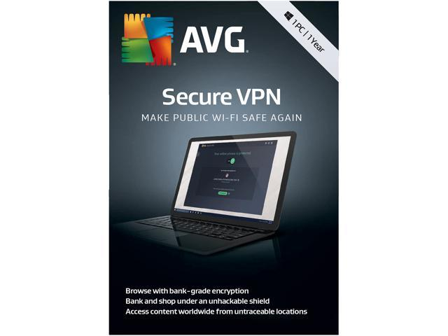AVG Secure VPN - 1PC / 1 Year