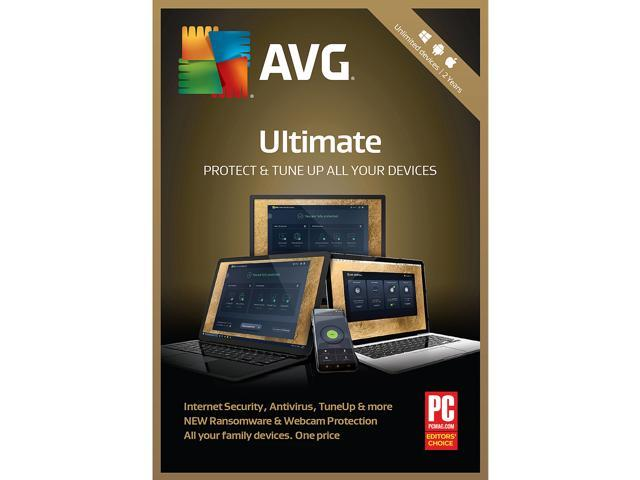 AVG Ultimate 2019 Unlimited Devices 2 Years
