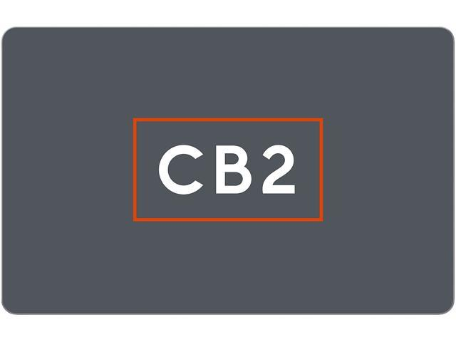 Cb2 Free Shipping >> Cb2 25 Gift Card Email Delivery Newegg Com
