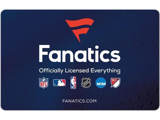 Fanatics  75 Gift Card (Email Delivery) - Newegg.com a76ec5337