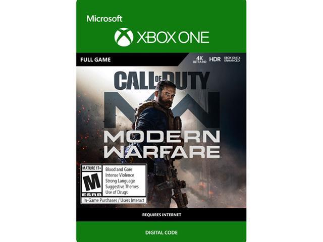 Call of Duty Modern Warfare Digital Standard Edition Xbox One [Digital  Code]