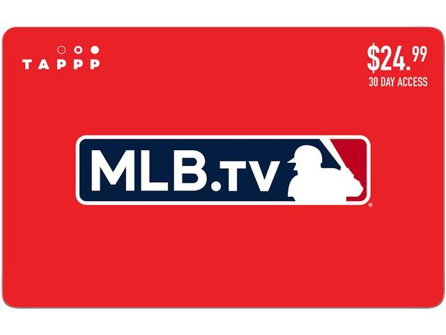 MLB TV 30 Days Subscription Gift Card (Email Delivery)