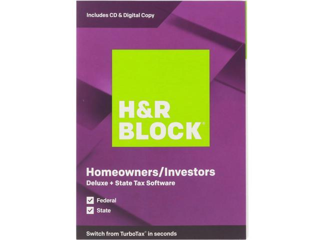H&R Block Tax Software Deluxe + State 2019 (Bundle) by H&R Block