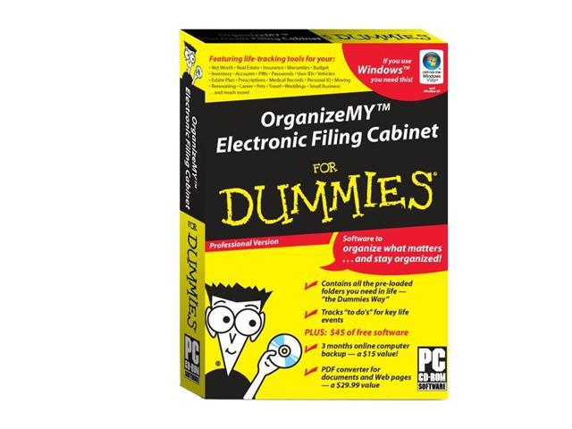 Org-Matters OrganizeMY Electronic Filing Cabinet For Dummies  sc 1 st  Newegg.com & Org-Matters OrganizeMY Electronic Filing Cabinet For Dummies ...