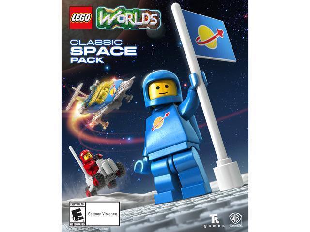 Lego Worlds Classic Space Pack Online Game Code Neweggcom