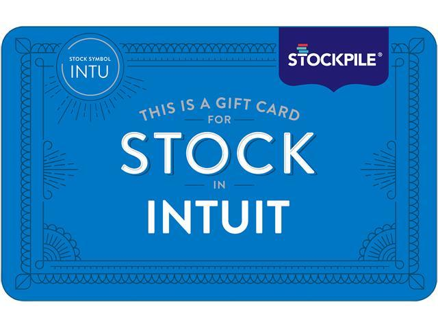 Stockpile 5 Gift Card For Intuit Intu Stock Email Delivery
