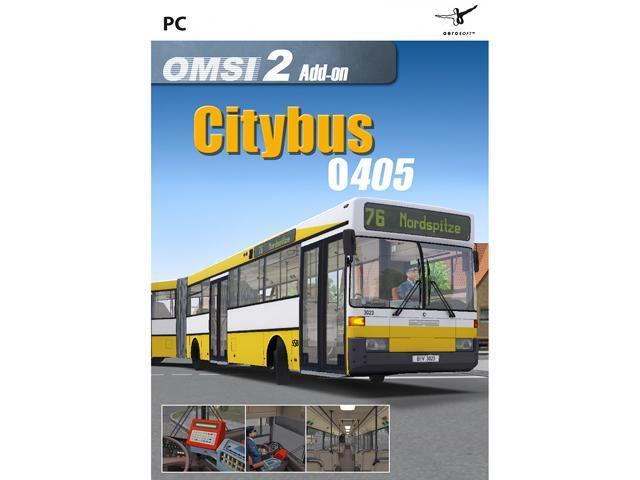 OMSI 2 Add-On Citybus O405 [Online Game Code] - Newegg com