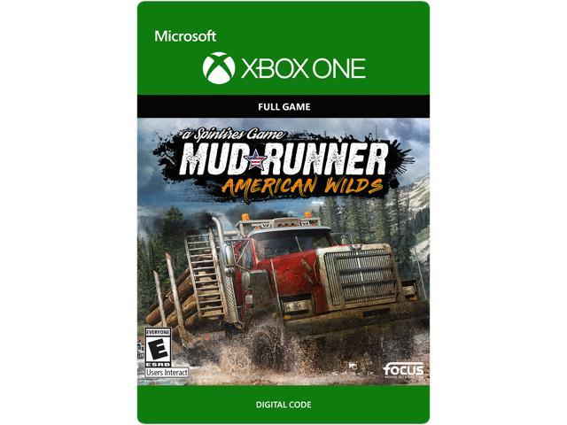 spintires mudrunner american wilds edition xbox one. Black Bedroom Furniture Sets. Home Design Ideas