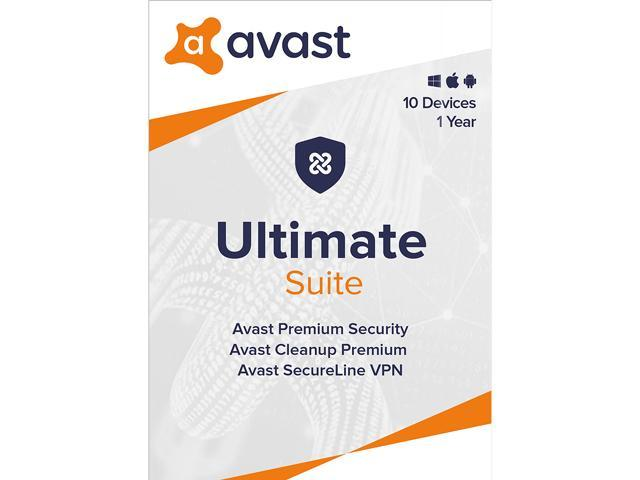 Avast Ultimate Suite 2020, 10 Devices 1 Year [Key Card]