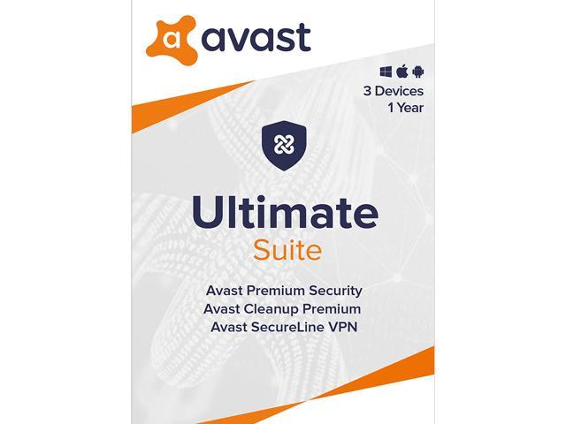Avast Ultimate Suite 2020, 3 Devices 1 Year (Key Card)