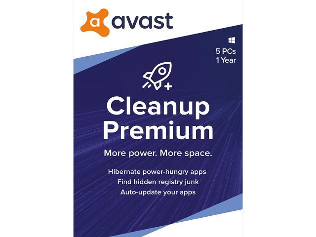 Avast Cleanup Premium 2020, 5 Devices 1 Year [Key Card]