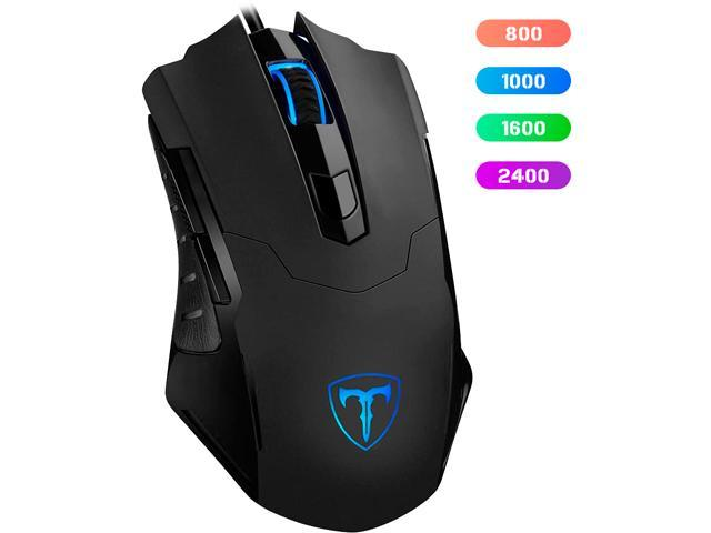 TROPRO Gaming Mouse Wired Breathing Light Ergonomic Game USB - Sale: $29.99 USD