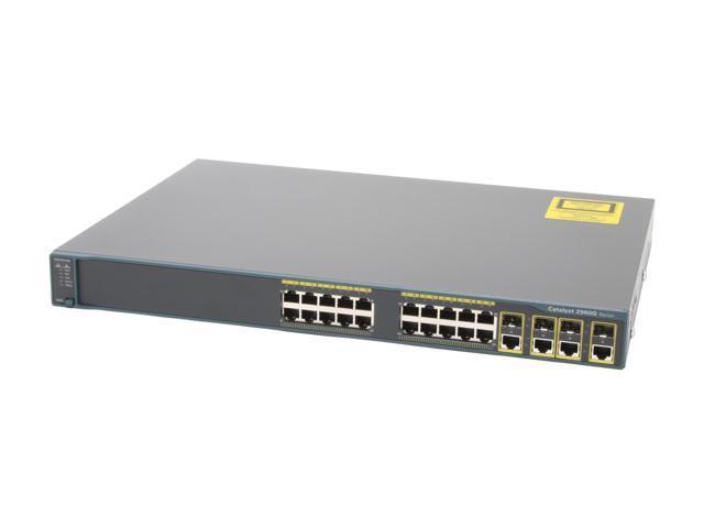 Thiết bị mạng Cisco 2960 Catalyst dùng như thế nào