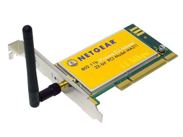 NETGEAR MA311 PCI ADAPTER DOWNLOAD DRIVER