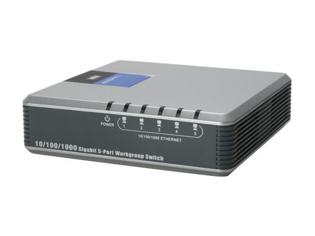 linksys eg005w gigabit 5 port switch newegg com rh newegg com Linksys NH1005 Hub or Switch Linksys NH1005 Hub or Switch
