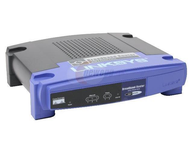 open box  linksys rt31p2 broadband router with 2 phone