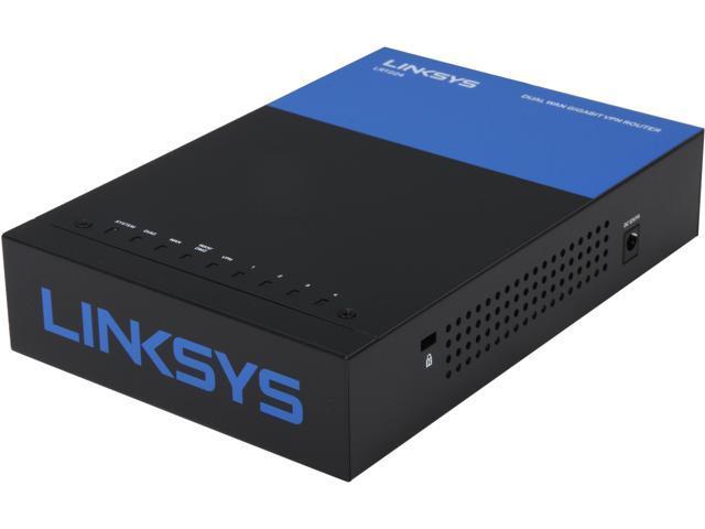 Linksys lrt business dual wan gigabit vpn router