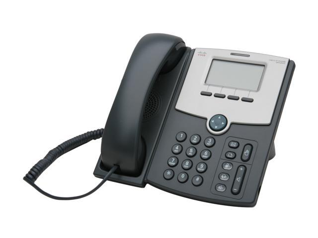 Cisco Small Business SPA502G 1 Line IP Phone With Display, PoE and PC Port  - Newegg com