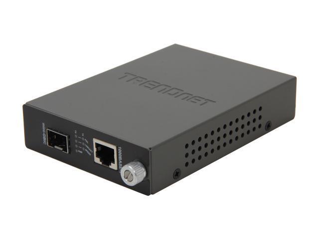 TRENDnet TFC-1000MGA 100/1000BASE-T to SFP Media Converter - Newegg ca