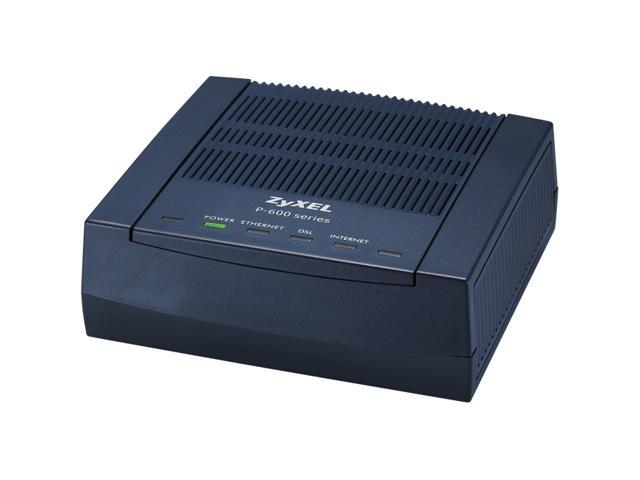 ZyXEL ADSL 2+ Ethernet Router (P660R-F1) - Newegg com
