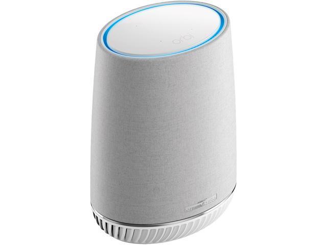 NETGEAR Orbi Voice Whole Home Mesh WiFi Satellite Extender - with Amazon  Alexa and Harman Kardon Speaker Built in, AC2200 (RBS40V) - Newegg com
