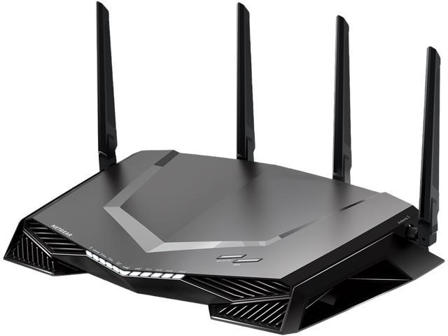 NETGEAR XR450 Nighthawk Pro Gaming Wi-Fi Router + The Division 2 (PC)  Digital Code - AC2400 Dual-Band Quad Stream Gigabit, Gaming Dashboard, Geo