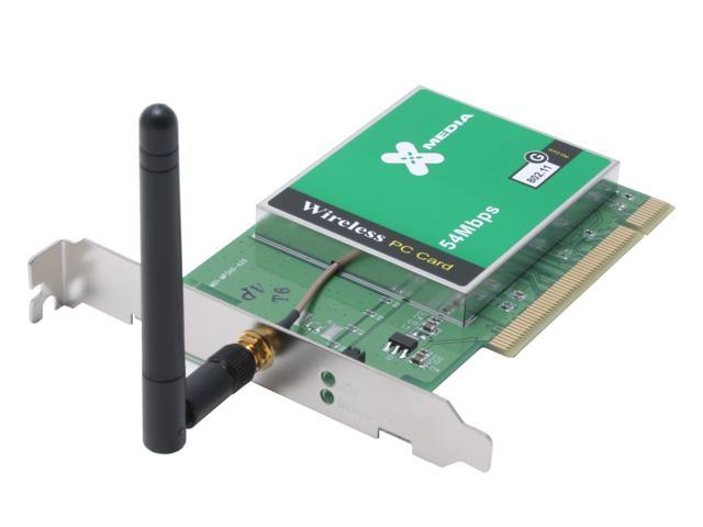 X-MEDIA NE-WN350 54Mbps Wireless-G PCI Adapter