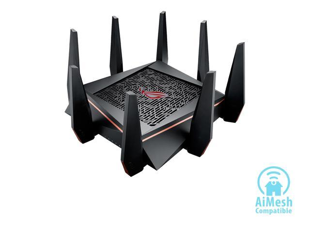 47d29d32ef6f ASUS ROG Rapture GT-AC5300 5334Mbps Tri-band Gaming Router ...