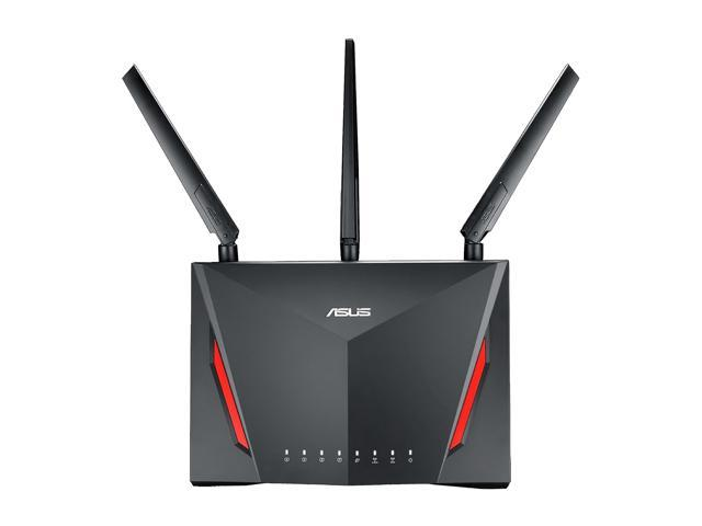 asus ac2900 wi fi dual band gigabit wireless router newegg com