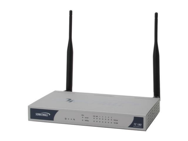 SonicWALL 01-SSC-6086 TotalSecure 25 (TZ 180W) - Newegg com