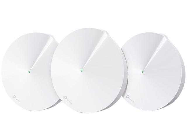 TP-Link Deco M5 AC1300, The Most Secure Whole-Home Mesh Wi-Fi System. Protects Your Home from Viruses and Hacking | Parental Controls | Up to 4,500 sq. ft. | Router Replacement
