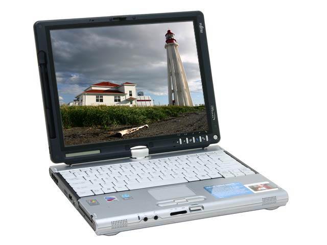 Fujitsu Lifebook T series T4020 Intel Pentium M 740 (1 73 GHz) 256 MB  Memory 12 1