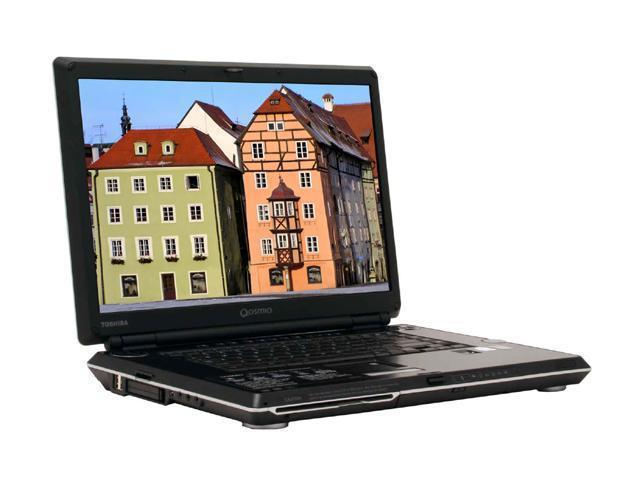 TOSHIBA Qosmio G35-AV600 Laptop Intel Core Duo T2400 (1.83 ...