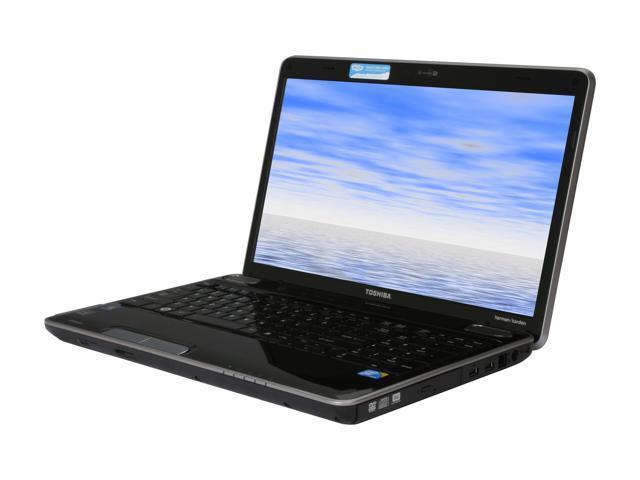 toshiba laptop satellite a505 s6985 intel core 2 duo t6600 2 20 ghz rh newegg com Toshiba Satellite A505 Specs Toshiba A505-S6980 Battery