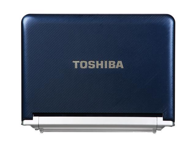 toshiba nb305 n410bl royal blue intel atom n450 1 66 ghz 10 1 rh newegg com Toshiba NB100 Toshiba NB305 RAM Upgrade