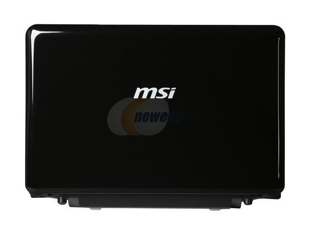 "MSI Wind12 L2100-036US Mystic Black AMD Athlon Neo MV-40(1.60 GHz) 12.1"" WXGA 2GB Memory 250GB HDD Netbook"