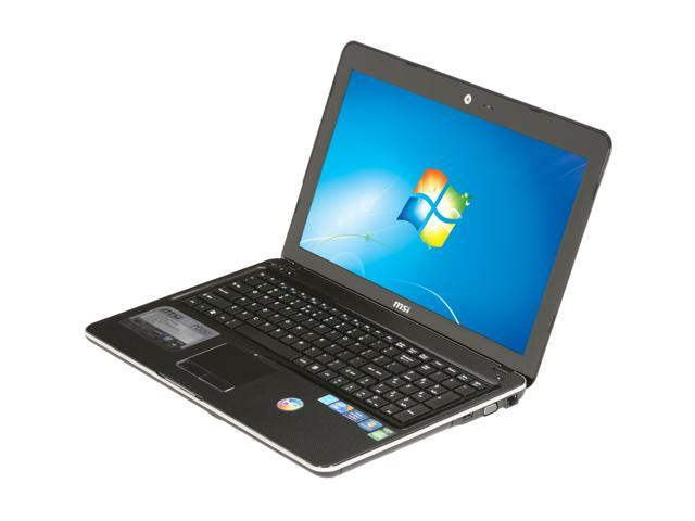 msi laptop p600 019us intel core i5 1st gen 450m 2 40 ghz 4 gb rh newegg com