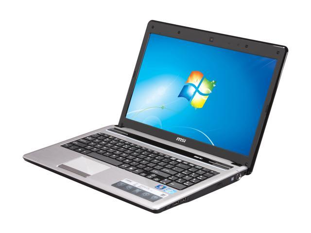 MSI Laptop A6400-042US Intel Core i5 2nd Gen 2410M (2 30 GHz) 4 GB Memory  500 GB HDD Intel HD Graphics 3000 15 6