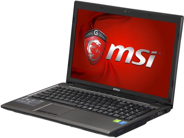 Open Box: MSI CX61 2PC-499US Gaming Laptop Intel Core i5-4200M 2 5 GHz, Max  Turbo Frequency 3 1 GHz 15 6