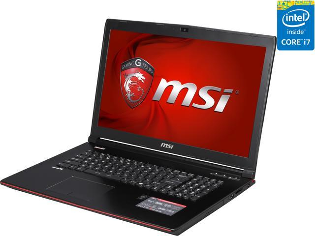 "MSI GE Series GE72 Apache-027 17.3"" Intel Core i7 4th Gen 4720HQ (2.60 GHz) NVIDIA GeForce GTX 965M 16 GB Memory 1 TB HDD Windows 8.1 64-Bit Gaming Laptop"