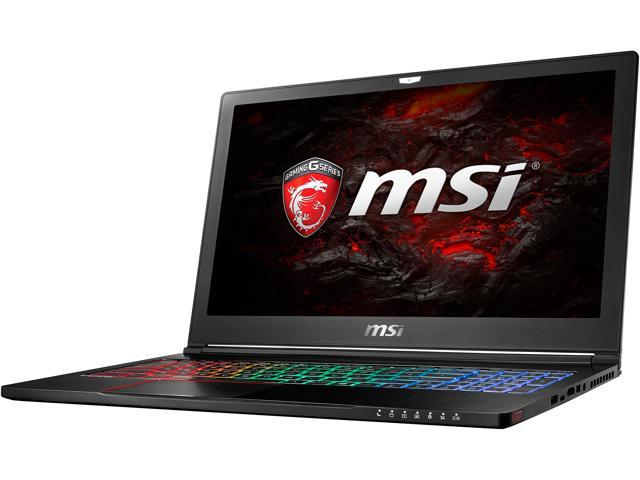 "MSI GS63 STEALTH PRO-016 15.6"" IPS Intel Core i7 7th Gen 7700HQ (2.80 GHz) NVIDIA GeForce GTX 1050 Ti 16 GB Memory 256 GB SSD 1 TB HDD Windows 10 Home 64-Bit Gaming Laptop"