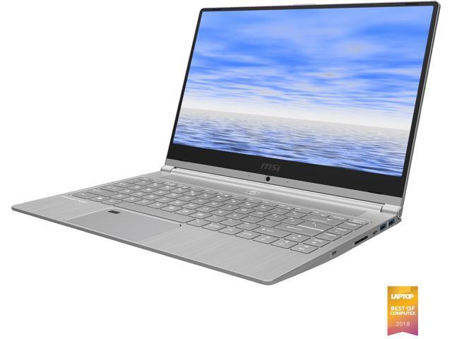 MSI Laptop PS42 8RB-059 Intel Core i7 8th Gen 8550U (1 80 GHz) 16 GB Memory  512 GB M 2 SATA SSD NVIDIA GeForce MX150 14 0
