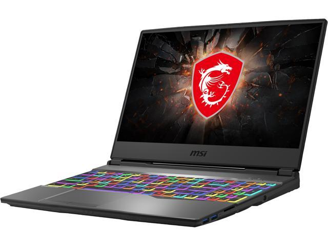 "MSI GP Series GP65 Leopard 9SF-240 15.6"" 144 Hz IPS Intel Core i7 9th Gen 9750H (2.60 GHz) NVIDIA GeForce RTX 2070 16 GB Memory 512 GB NVMe SSD Windows 10 Home 64-bit Gaming Laptop"