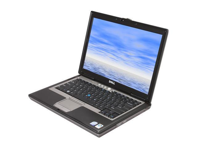 Refurbished: DELL Laptop Latitude D630 Intel Core 2 Duo 1 83 GHz 1 GB  Memory 60 GB HDD Integrated Graphics 14 1