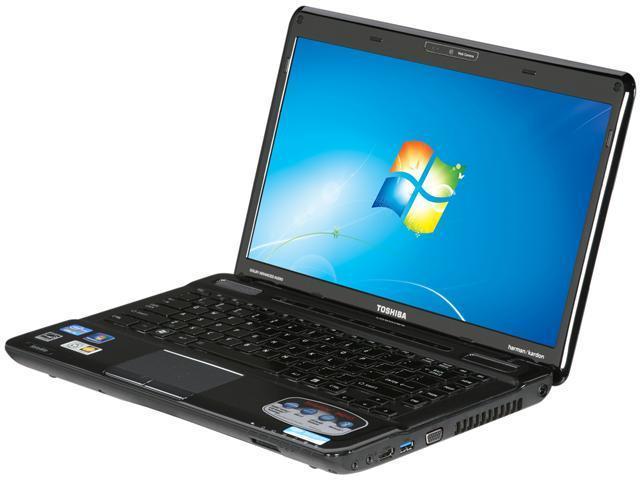 TOSHIBA Laptop Satellite M645-S4118X Intel Core i5 2nd Gen 2410M