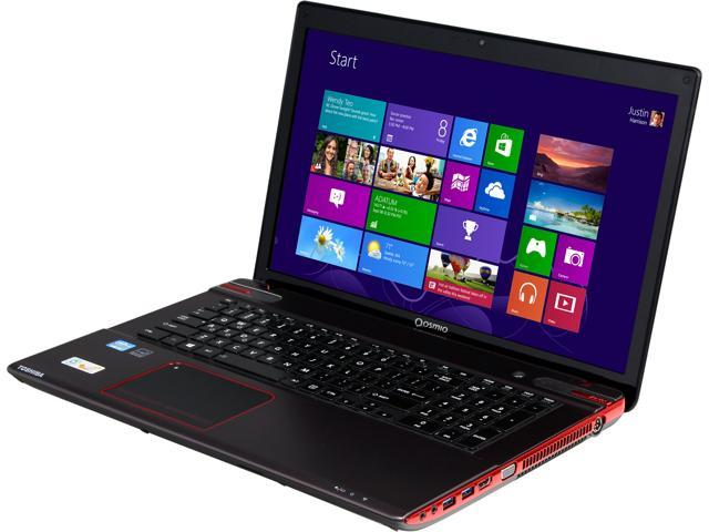 TOSHIBA Qosmio X875-Q7380 Laptop Harman//Kardon® Quad Speakers