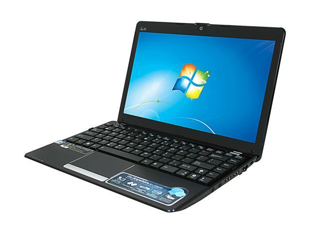 "ASUS Eee PC 1215N-PU17-BK Black Intel Atom D525(1.80GHz) Dual Core 12.1"" WXGA 2GB Memory 250GB HDD NetBook"